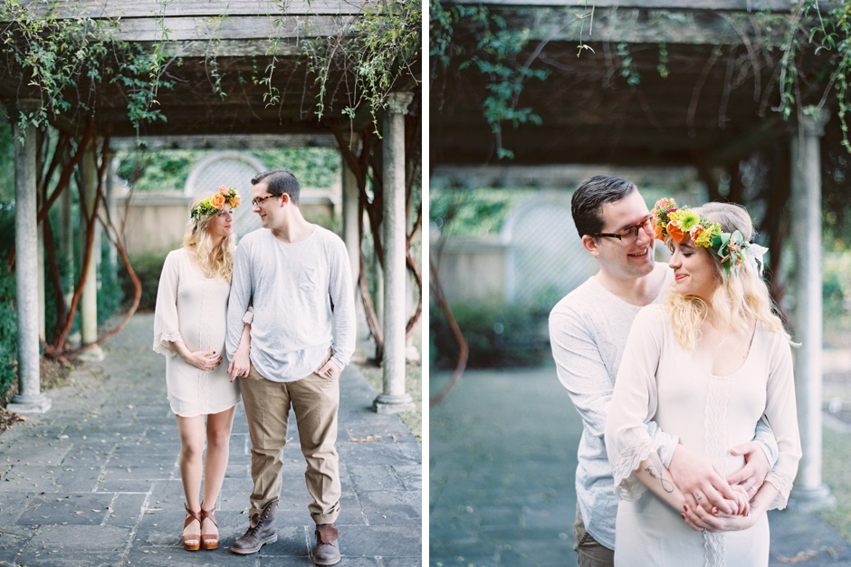 Eb photography + artistry Alabama boho floral garden maternity session_1038